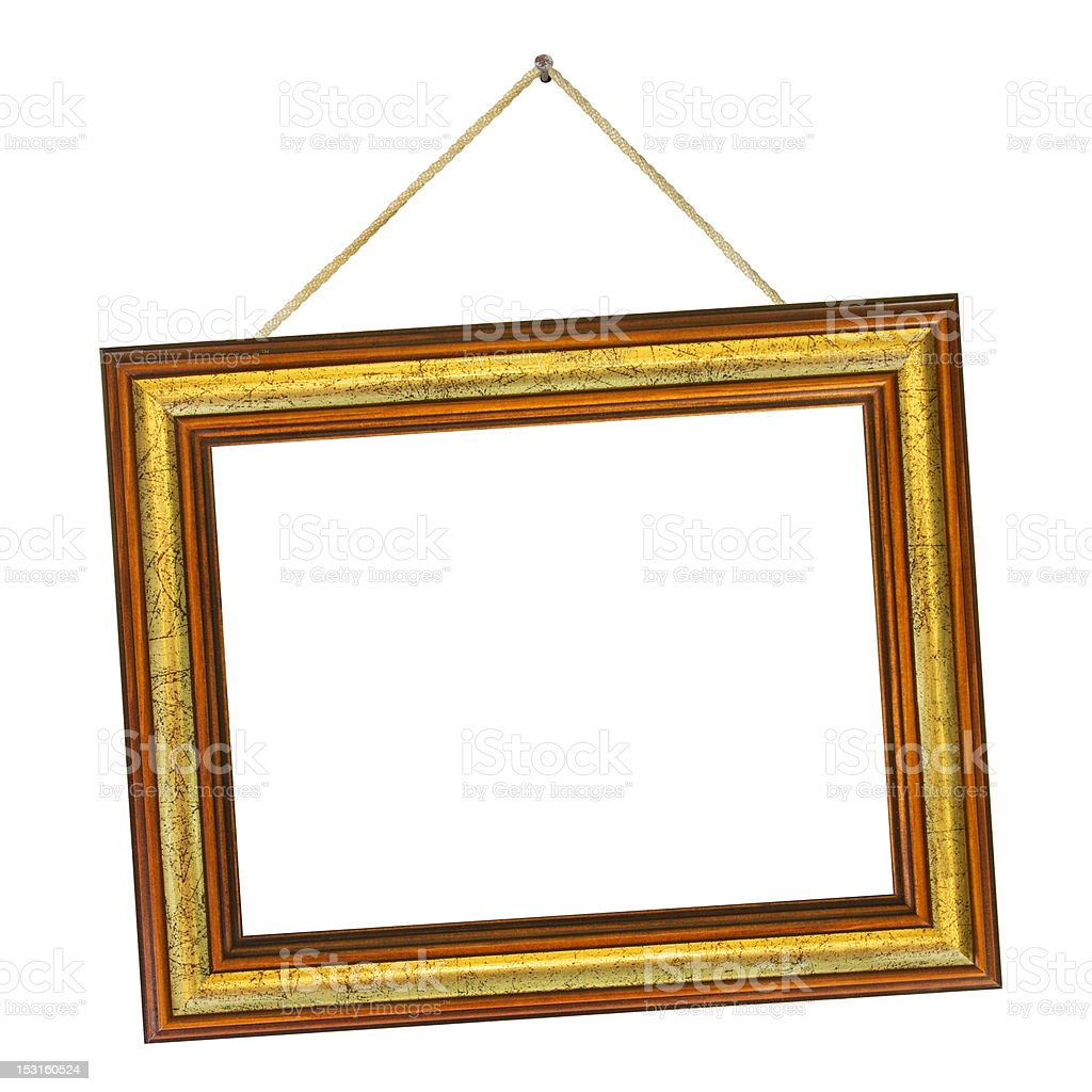 Frame and string stock photo