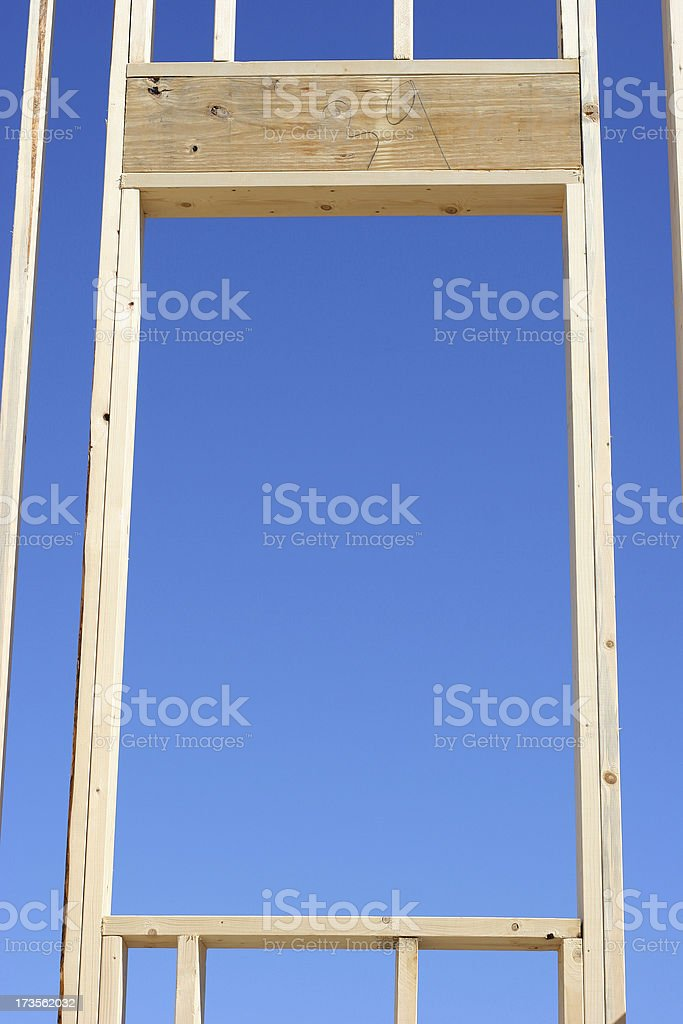 Frame by Framing royalty-free stock photo