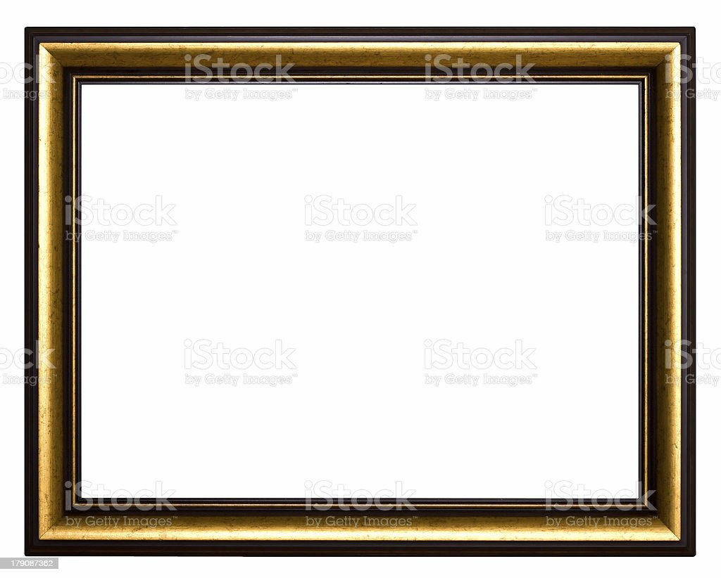 Frame for painting royalty-free stock photo