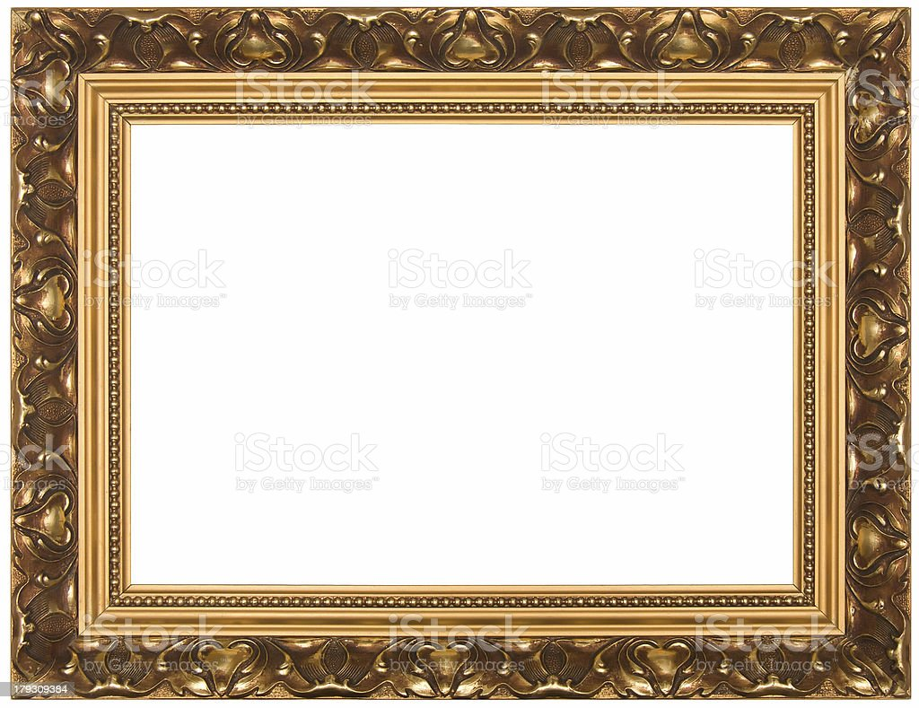 Frame for painting. royalty-free stock photo