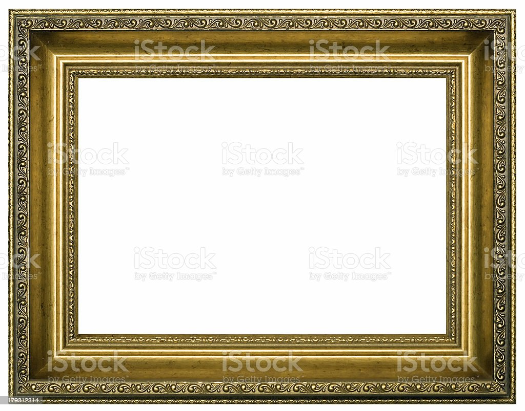 Frame for painting stock photo