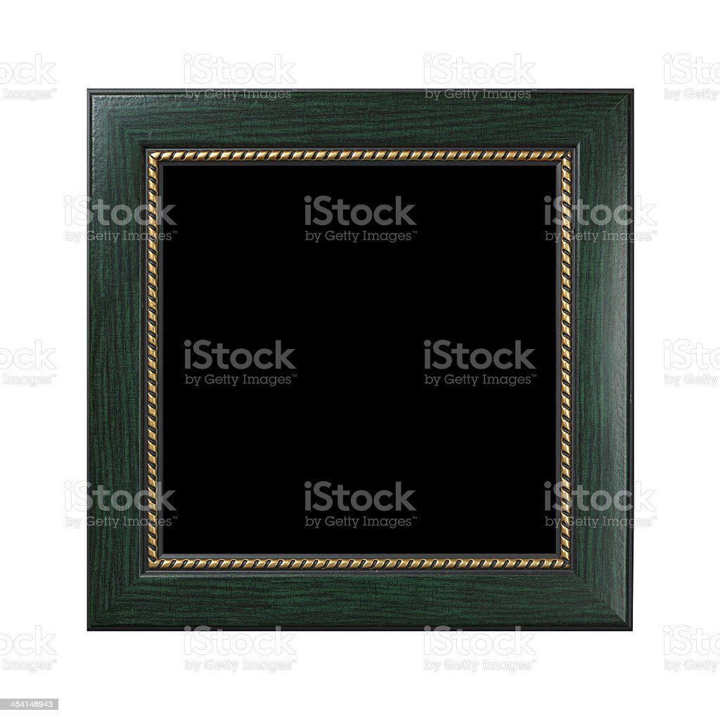 Frame of old-style baget royalty-free stock photo
