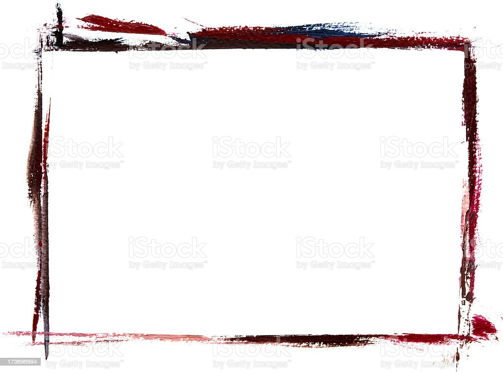 Frame painting royalty-free stock photo