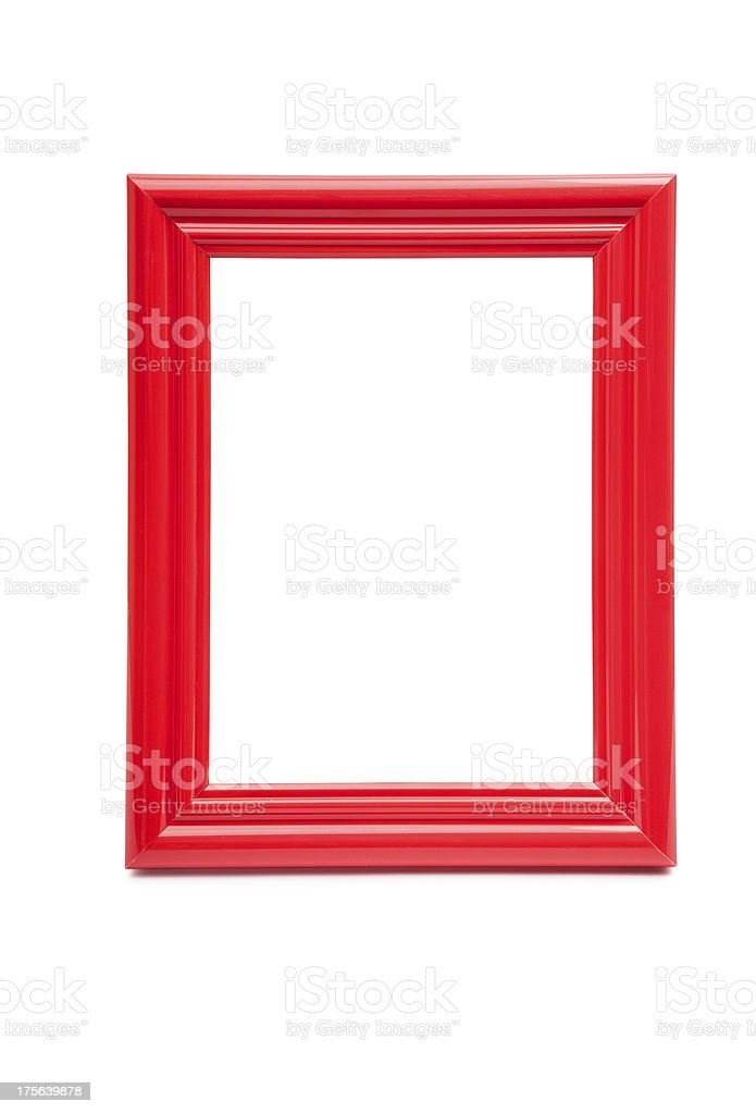 frame red stock photo