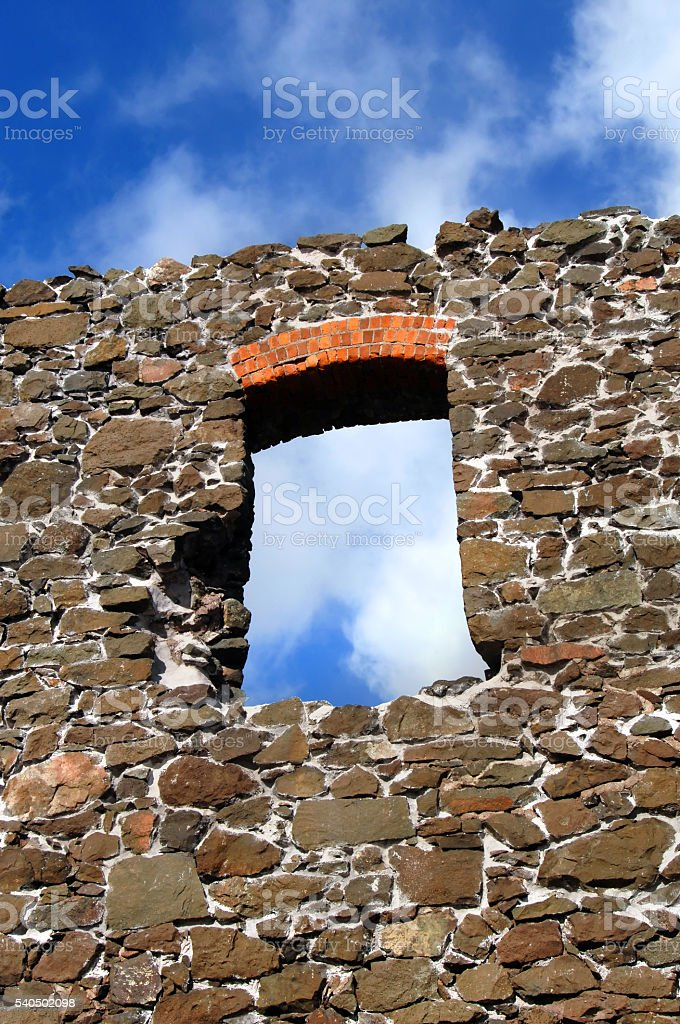 Frame with Hisotical View stock photo
