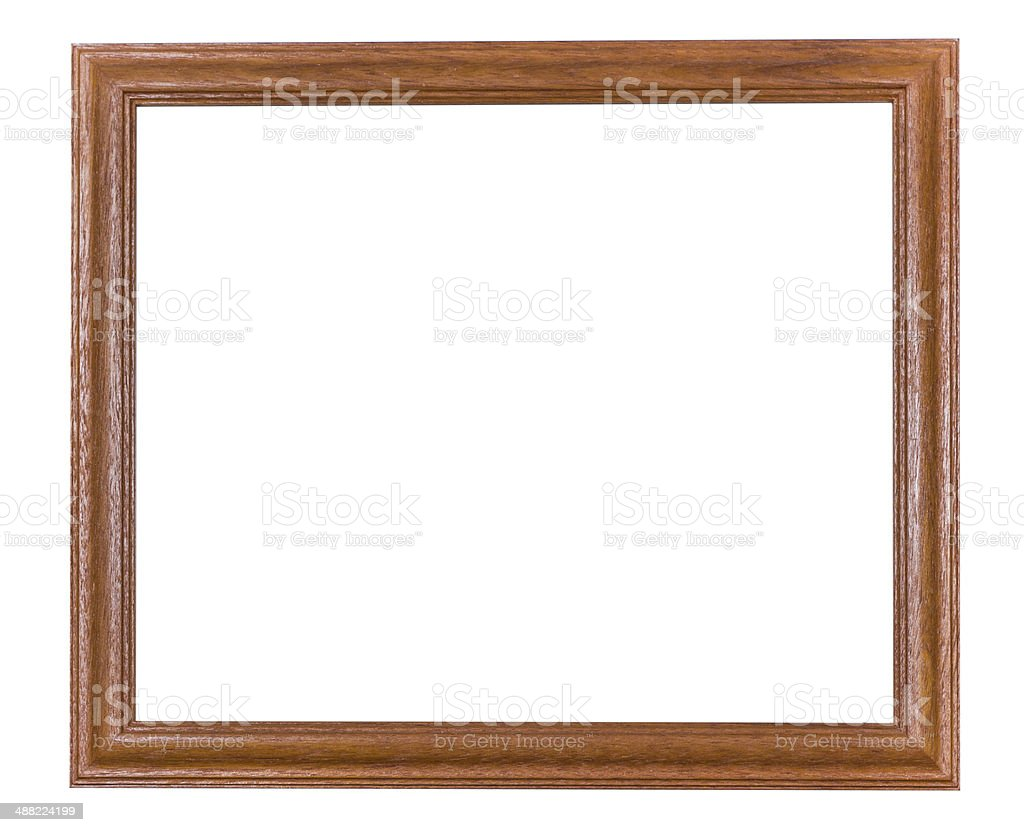 Frame wood style royalty-free stock photo