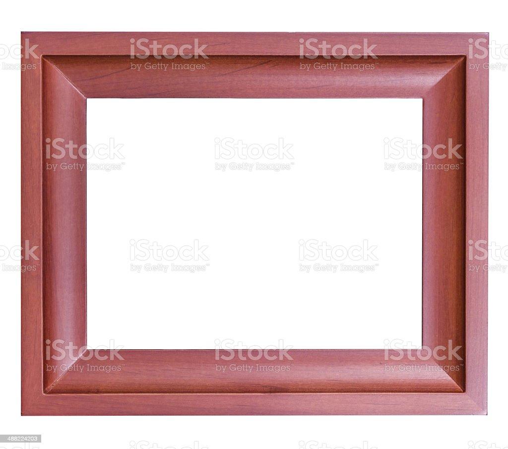 Frame wood style royalty-free stock photo