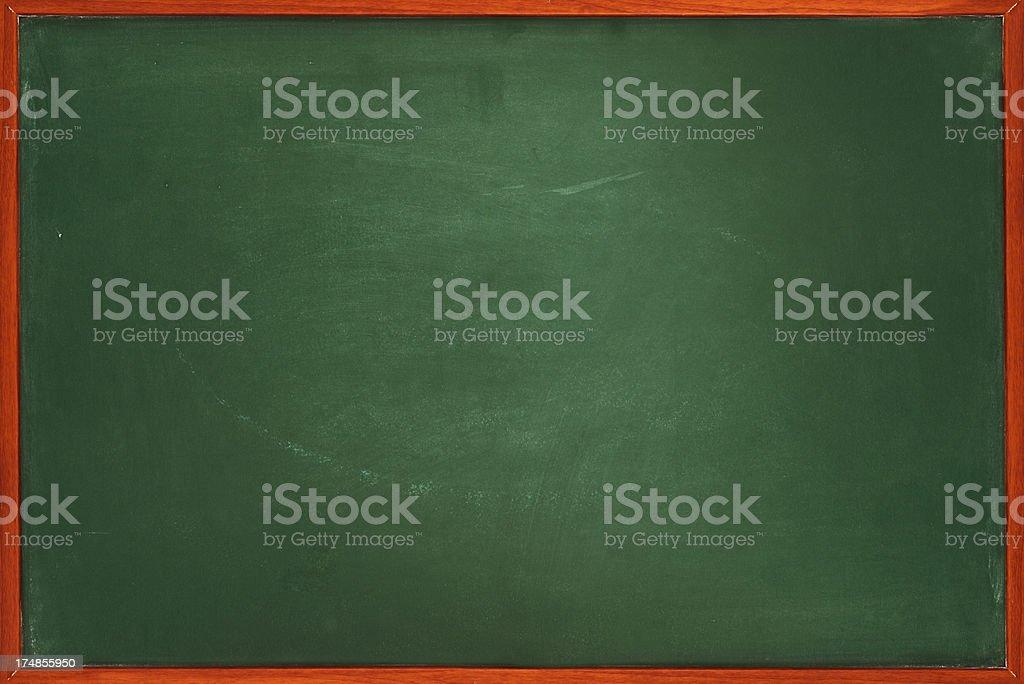 Framed blackboard royalty-free stock photo