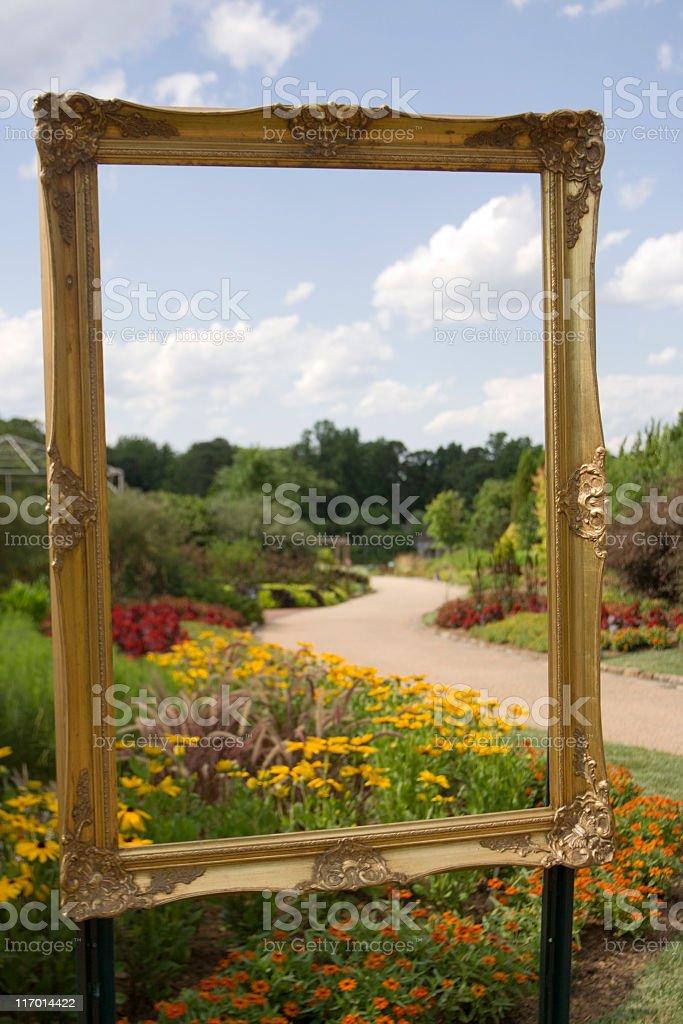 Framed royalty-free stock photo
