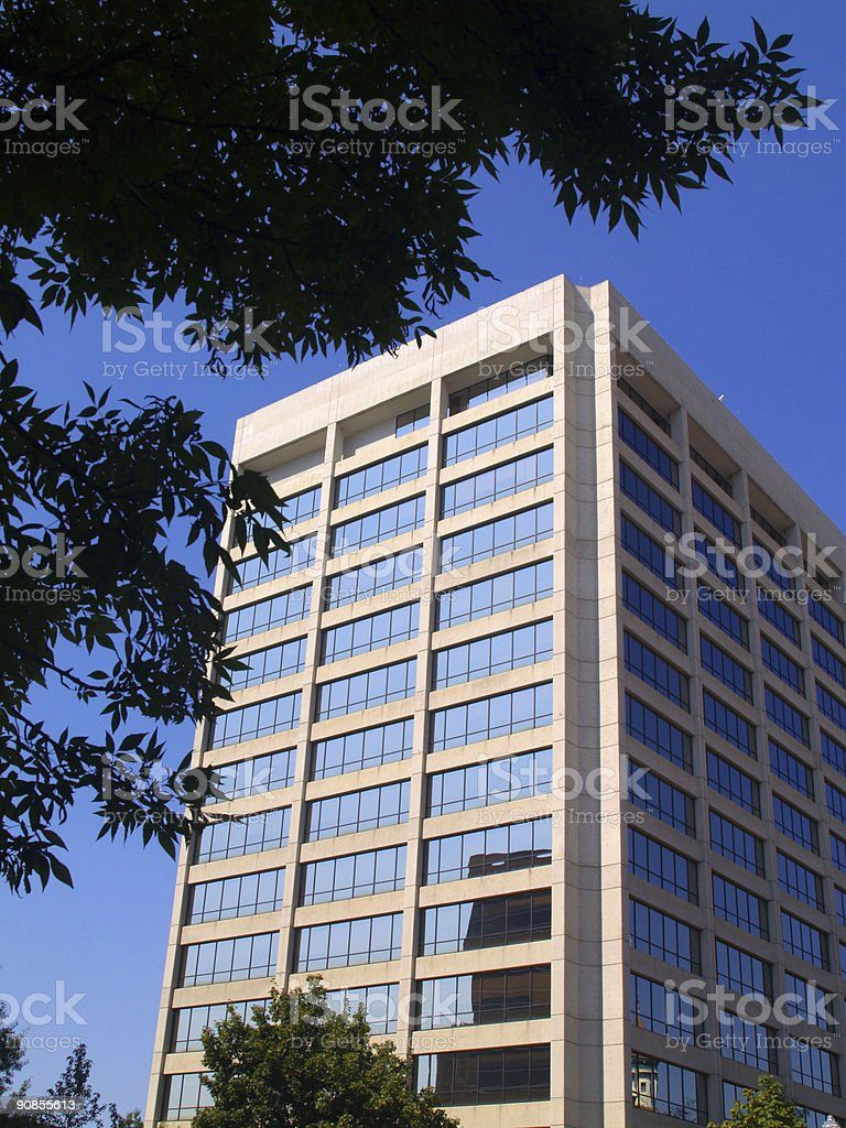 Framed Simplot Tower royalty-free stock photo
