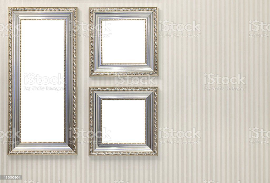 Frames with Clipping Paths stock photo