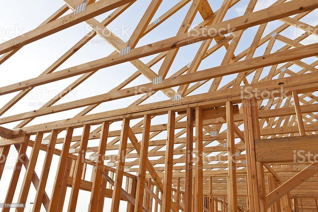 Framing in Development royalty-free stock photo