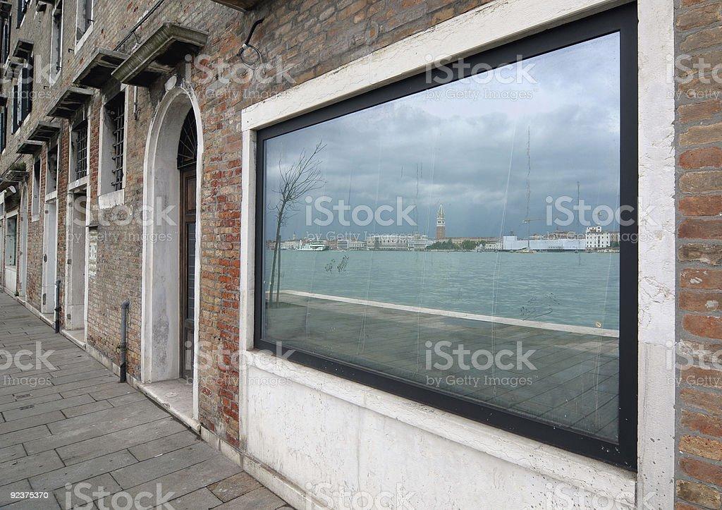 Framing Venice stock photo