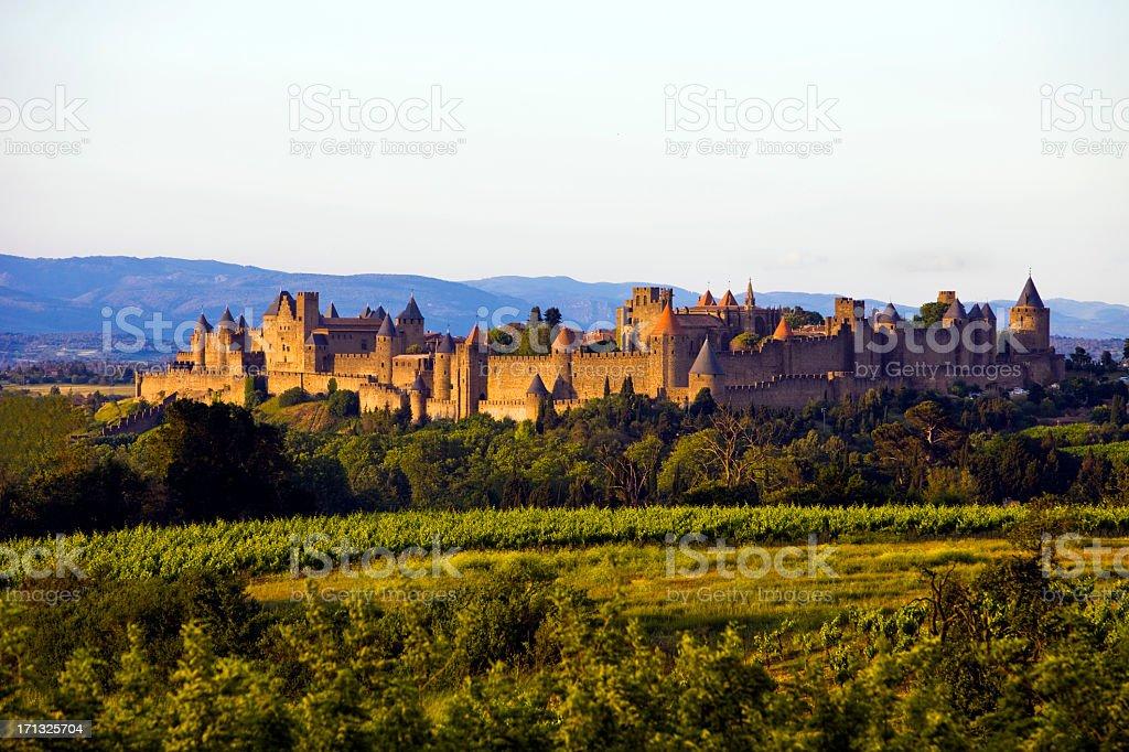 France - Carcassonne stock photo