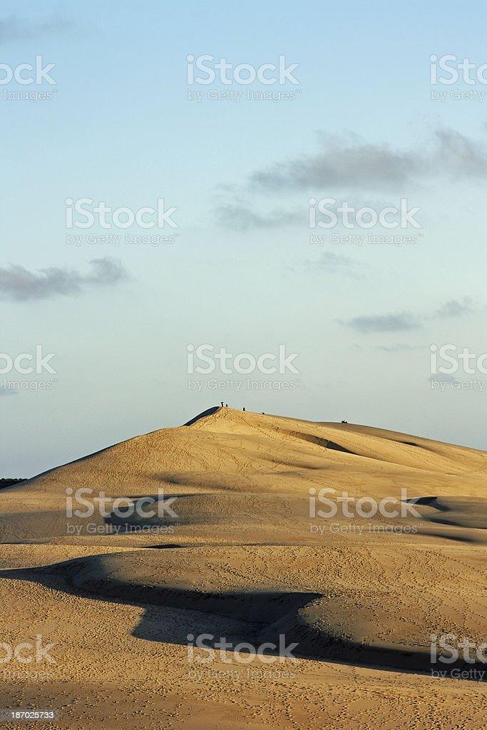France - Europe's highest dune near Arcachon stock photo