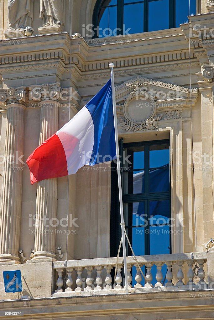 France flag royalty-free stock photo
