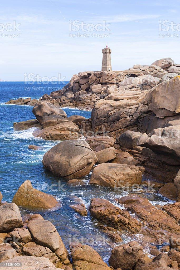 France, Granite Coast stock photo