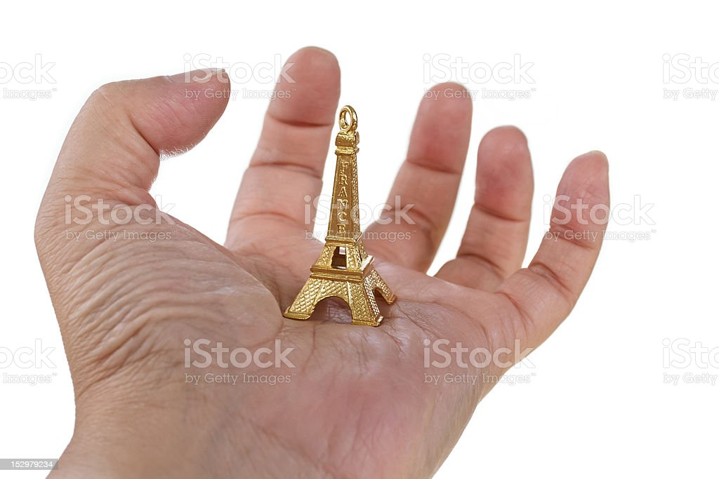 France is in my hand stock photo