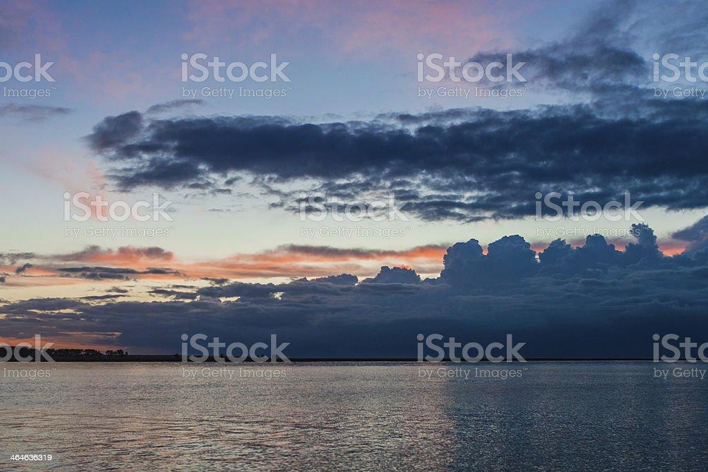France. Normandy. Mont Saint-Michel (Mont Saint Mich??) stock photo