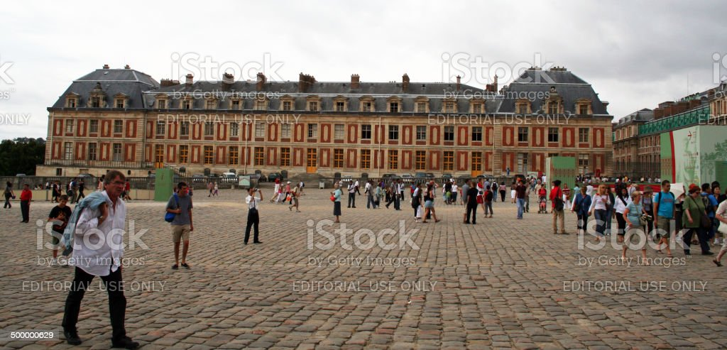 France: Palace of Versailles stock photo