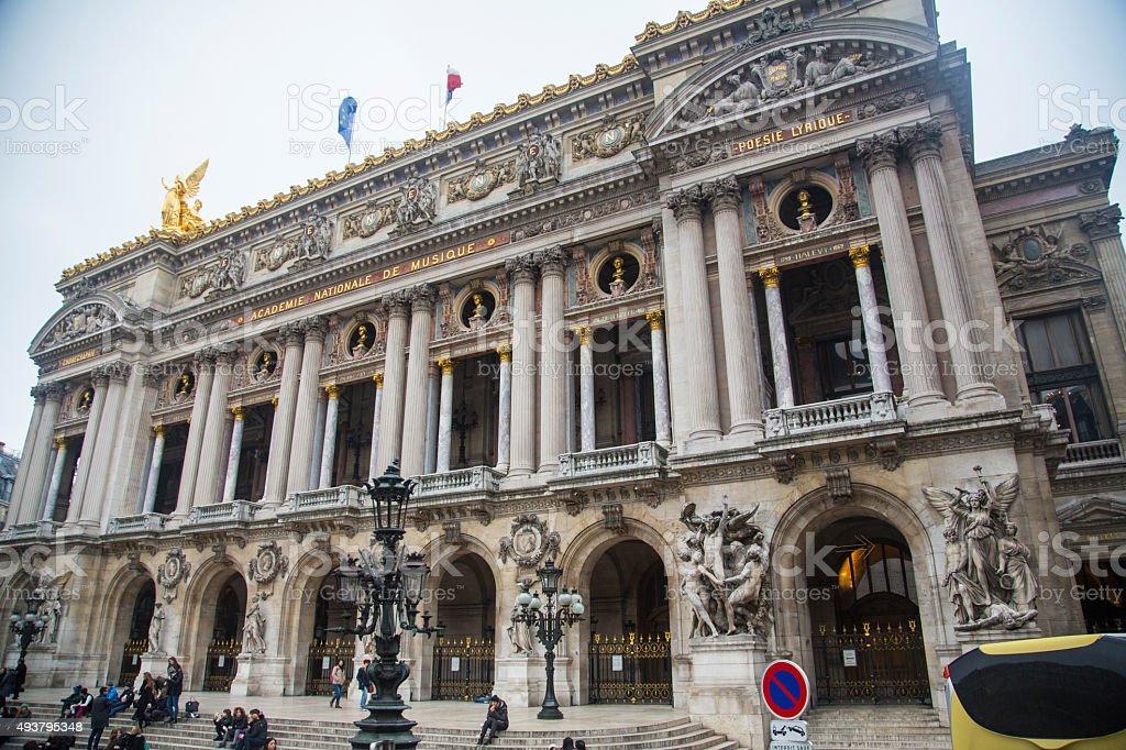 France - Paris - Opera Garnier stock photo