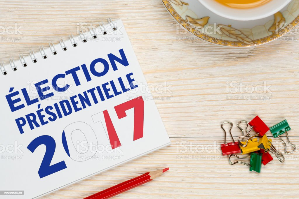 France president election 2017 stock photo