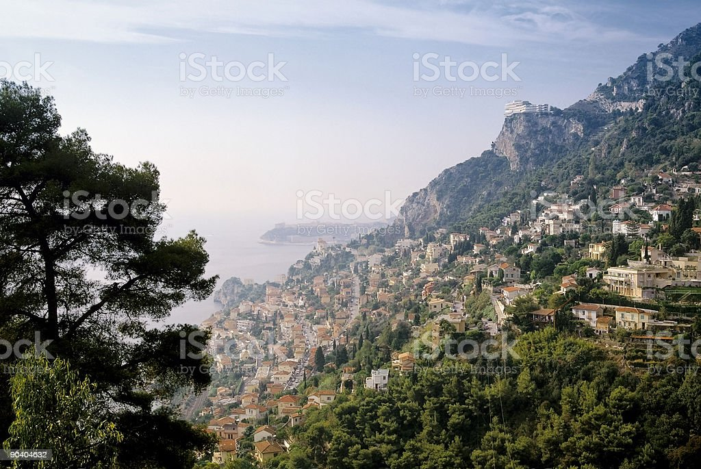 france riviera royalty-free stock photo
