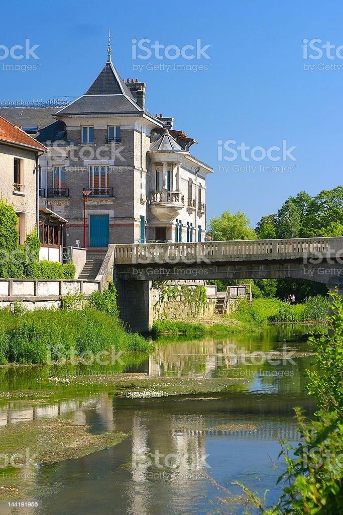France village stock photo