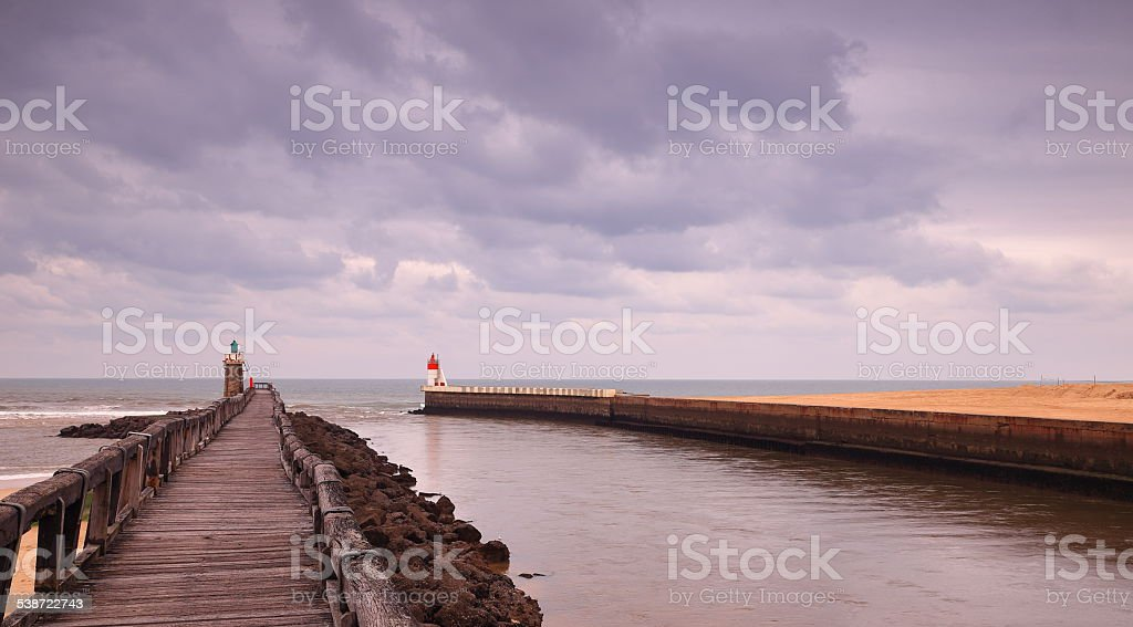 France-Capbreton stock photo