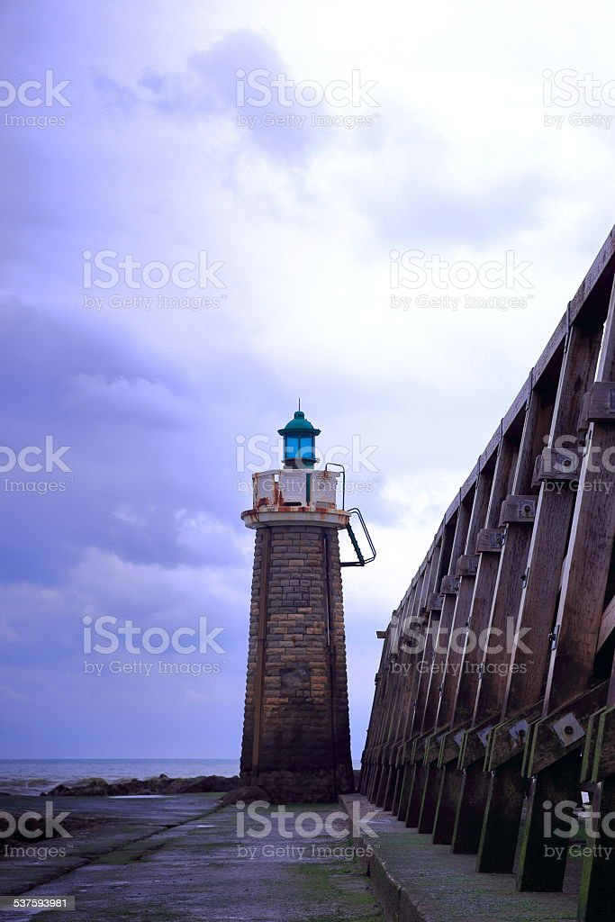 France-Lighthouse II stock photo