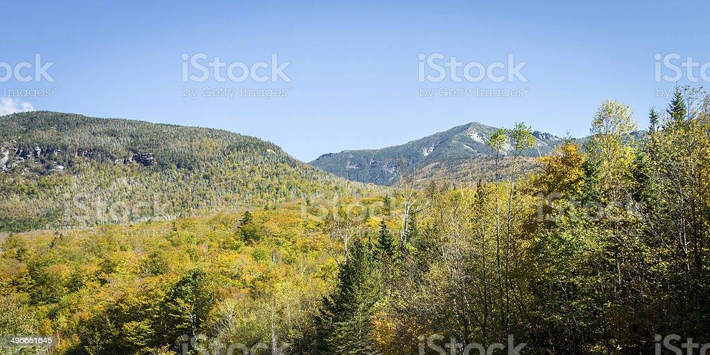 Francionia Noth, NH, in fall stock photo