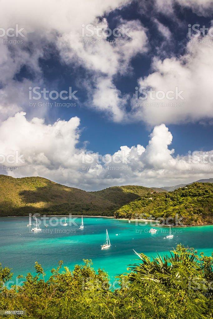 Francis Bay, St John, US Virgin Islands stock photo