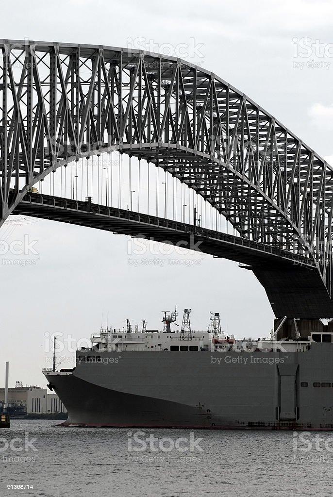 Francis Scott Key Bridge stock photo