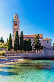 Franciscan Monastery in the town of Hvar