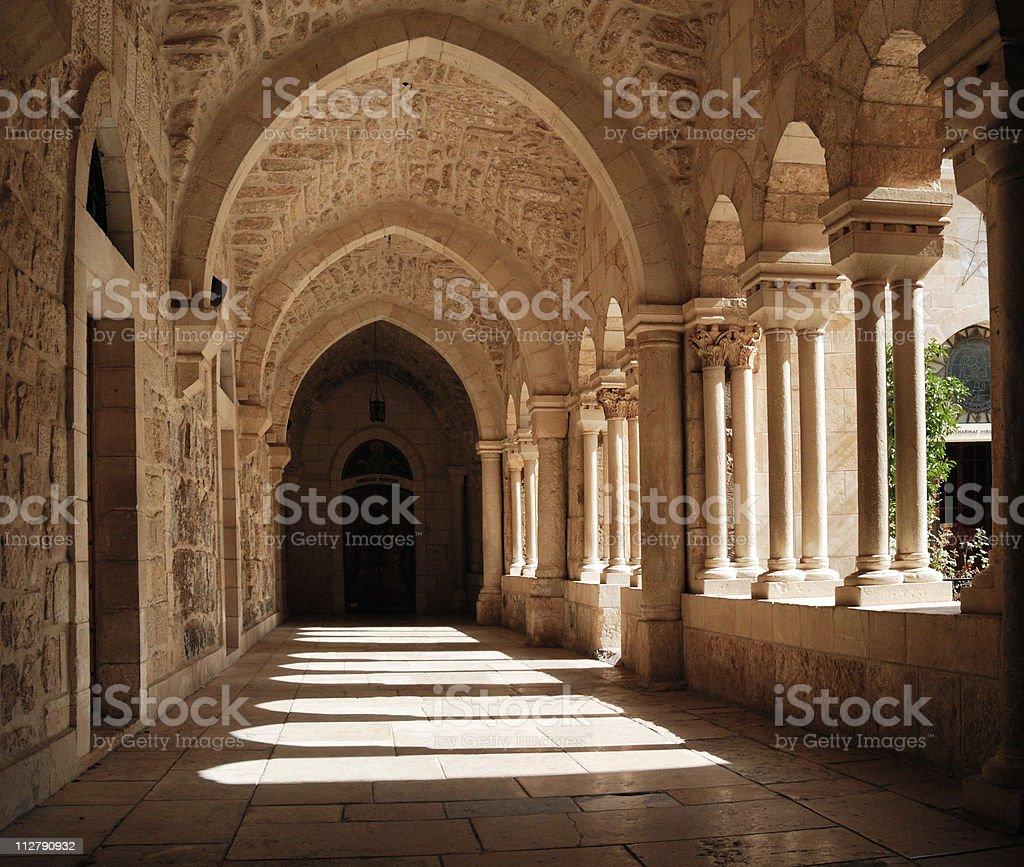 Franciscan monastery royalty-free stock photo