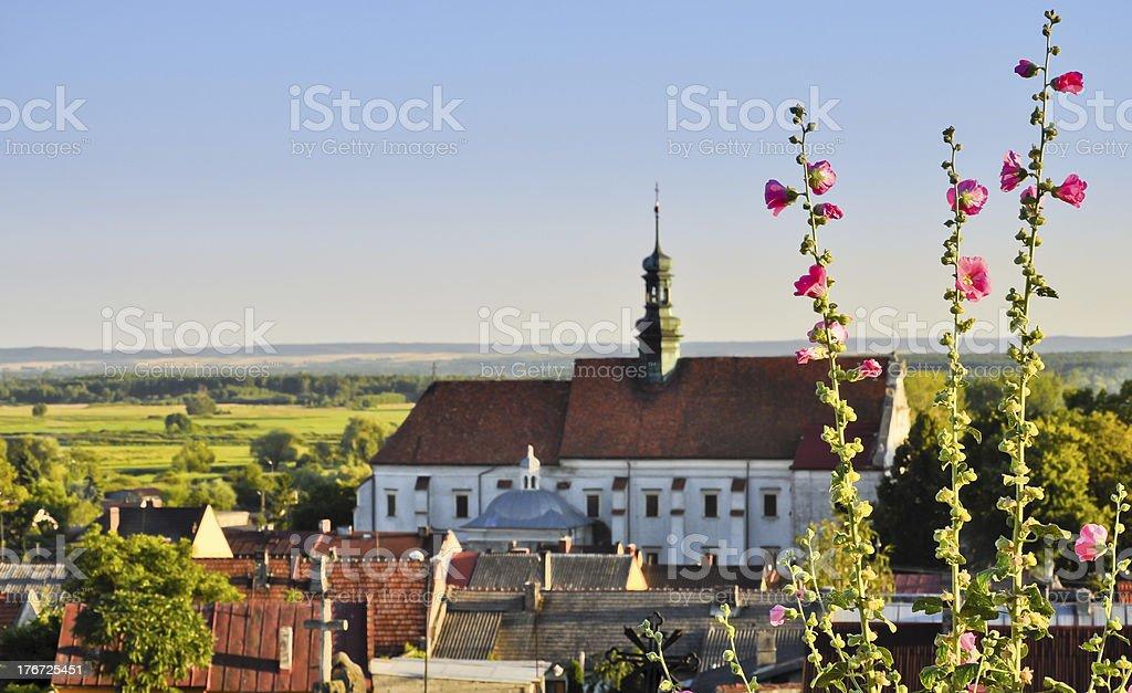 Franciscans Kloster in Pinczow, Polen Lizenzfreies stock-foto