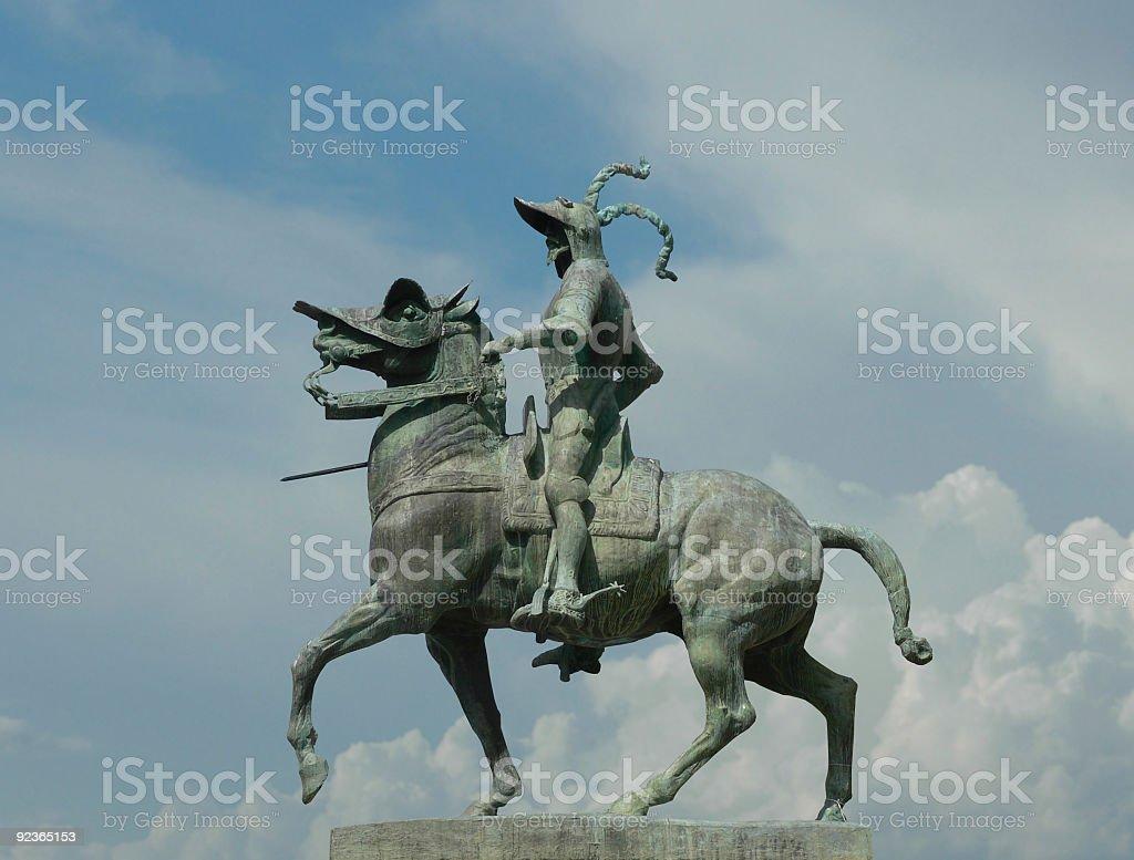 Francisco Pizarro - Trujillo royalty-free stock photo