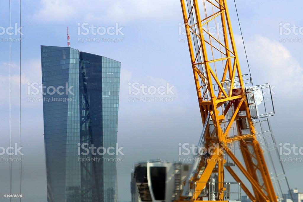 francoforte stock photo