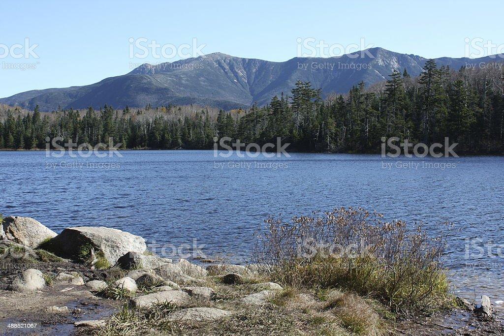 Franconia Notch - New Hampshire stock photo
