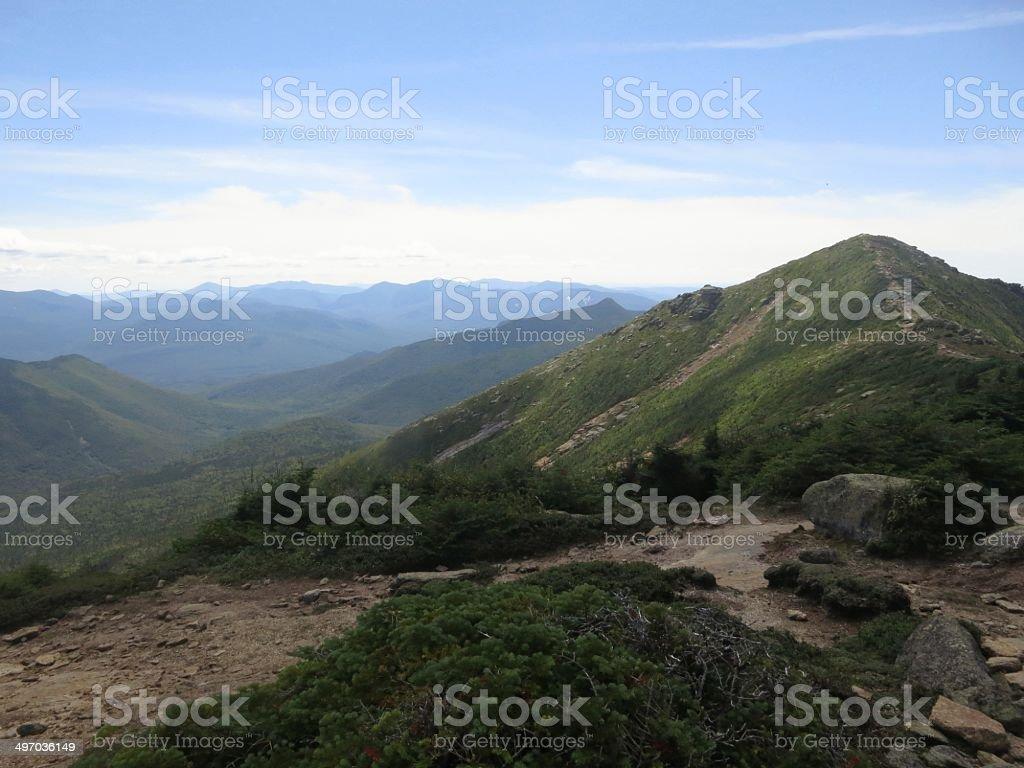 Franconia Ridge stock photo