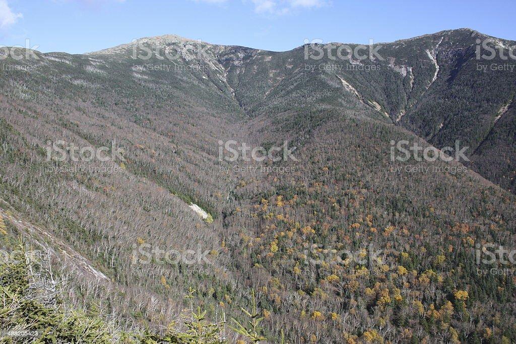 Franconia Ridge Trail - New Hampshire stock photo