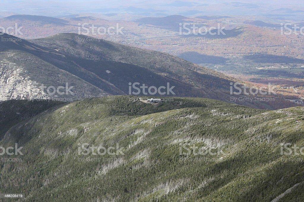 Franconia Ridge Trail stock photo