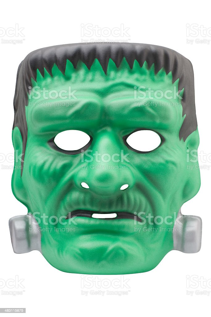 frankenstein mask (XL) stock photo