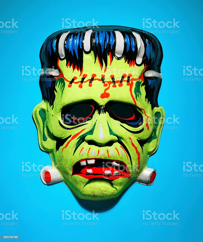 Frankenstein Mask stock photo