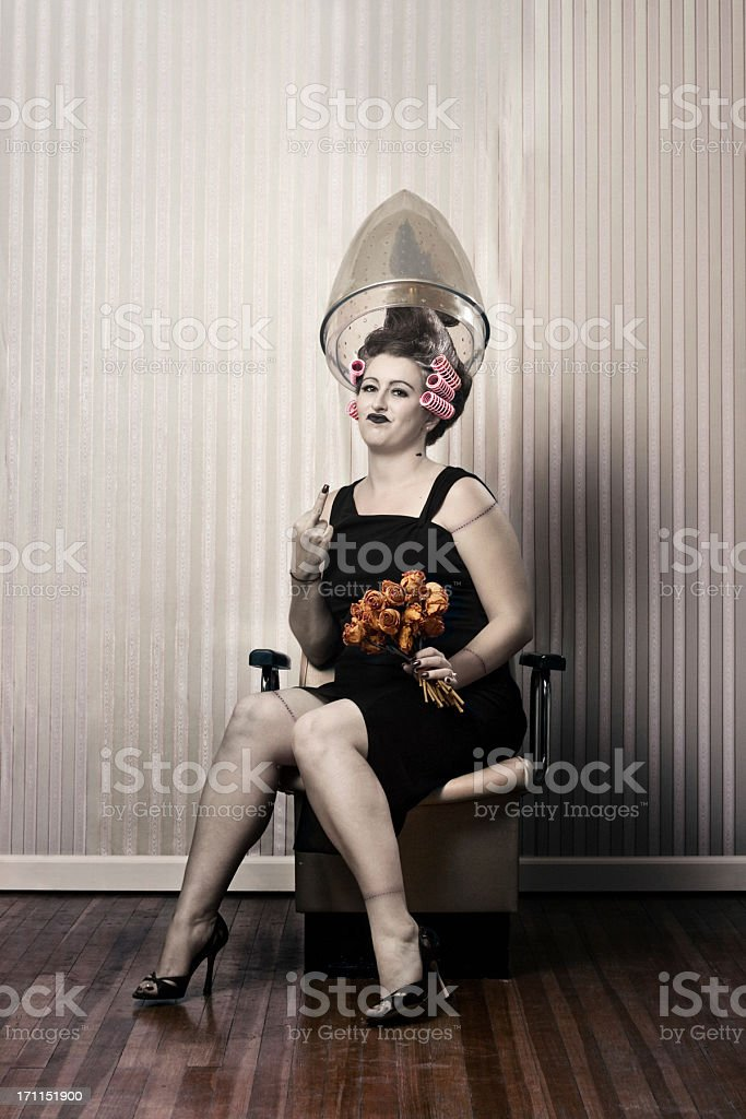 frankenstein's woman stock photo