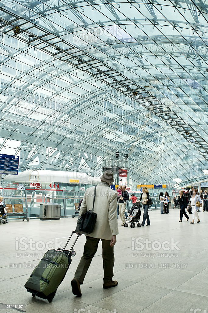 Frankfurt Airport long-distance railway station royalty-free stock photo