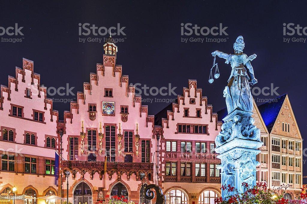Frankfurt Altstadt stock photo