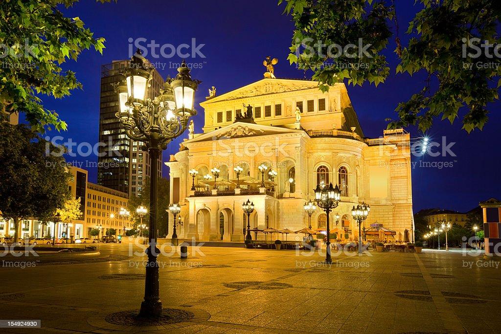 Frankfurt am Main Germany Alte Oper Old Opera House stock photo