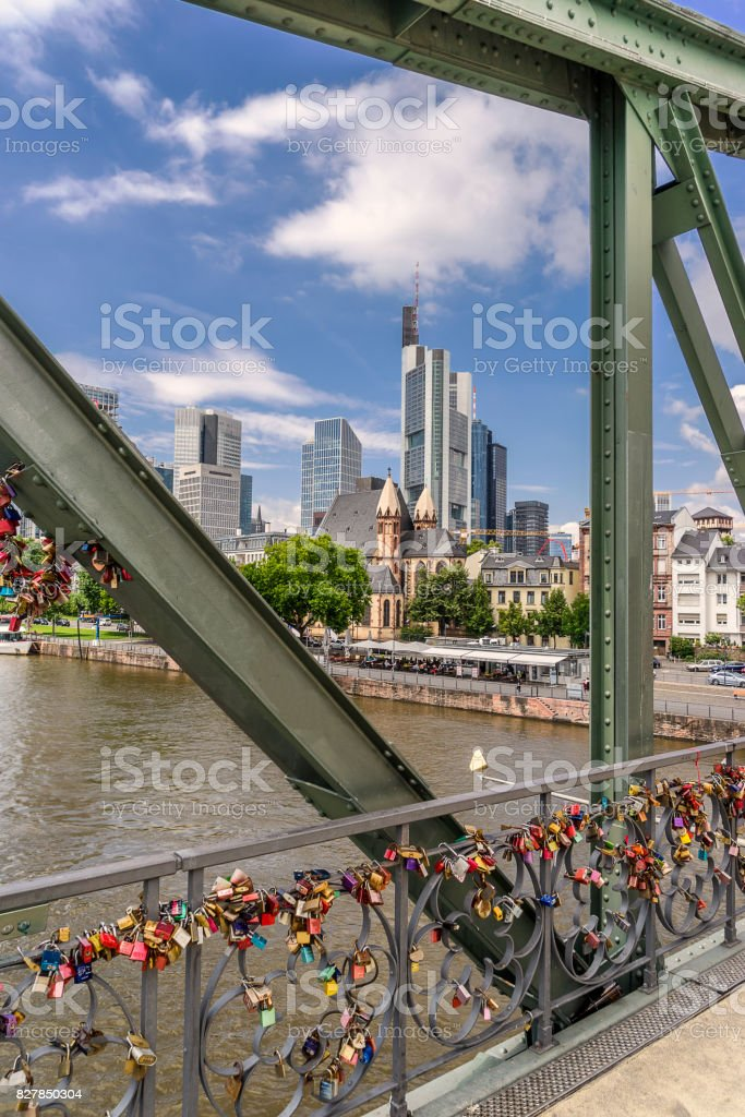 Frankfurt Am Main in Germany stock photo