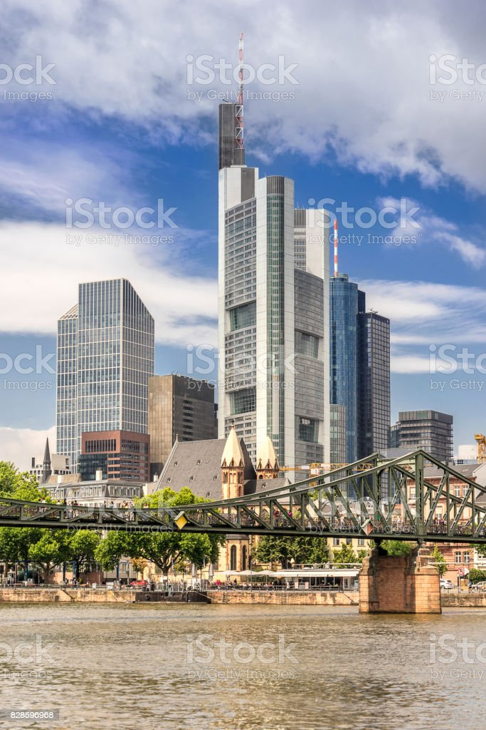 Frankfurt Am Main in Grermany stock photo